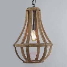 wooden pendant light liberty bell 8509776 01