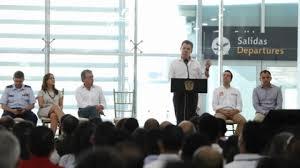"""Resultado de imagen para Presidencia de la republica """"El nuevo aeropuerto de Santa Marta"""