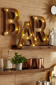 Pier 1's LED-equipped Marquee Wall Letters will help you make a stylish  statement to