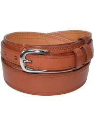ctm size 38 mens leather removable buckle ranger belt tan com