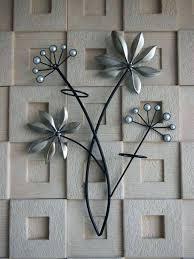 metal fl wall decor metal fl wall decor metal flower wall decor bed bath beyond metal