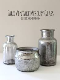 diy faux vintage mercury glass tutorial littleredwindow com