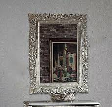 large baroque wall mirror antique