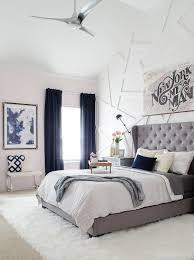Navy, gray, white | house | Glam bedroom, Bedroom, Master Bedroom