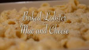 Baked Lobster Mac and Cheese Recipe ...