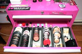 makeup tool box. need ideas on how to store/organize your makeup? about a toolbox? makeup tool box l