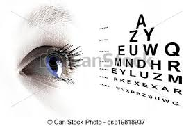 Picture Vision Chart Eye With Test Vision Chart Close Up