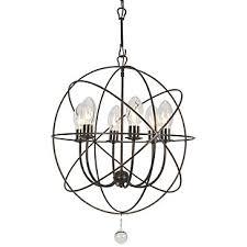 etoile outdoor chandelier