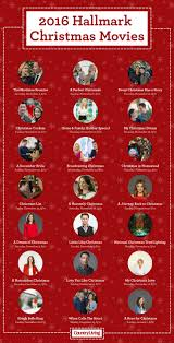 Movie Charts 2016 Here Are All The Hallmark Channel Christmas Movies You Need
