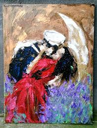 i love you this painting is