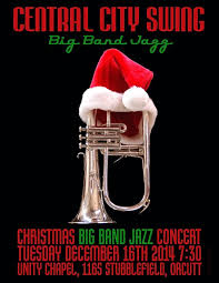 Christmas Concert Poster Christmas Concert Poster 2014 Central City Swing