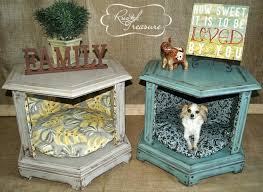 nightstand dog bed with steps pet diy alexandrialitras com