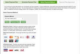 Credit Card Payment Plan Display Information Myuh Info
