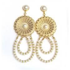 big chandelier earrings