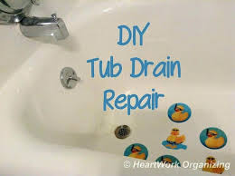 repair tub drain stopper how to install a bathtub fascinating replace installing trap
