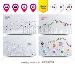 Financial Charts Vector Photo Free Trial Bigstock
