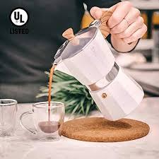 1300 x 1300 jpeg 104 кб. Grosche Milano Stovetop Espresso Maker Moka Pot 3 Espresso Cup 5 Oz Lemonadeideas