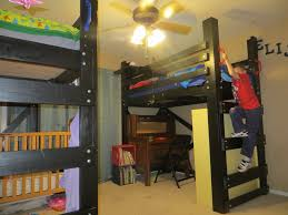 two twin loft beds