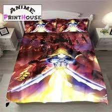 dragon ball z bed set anime bedroom set fate zero blanket duvet cover full bed set dragon ball z bed set