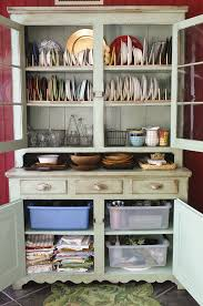 how an old hutch brought new life to my food blog kitchen hutch