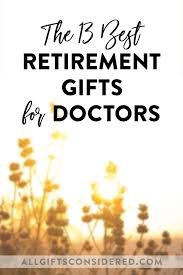 doctor retirement gifts 13