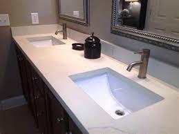bathroom white quartz countertops cost