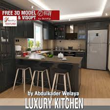Sketchup Kitchen Design Simple SKETCHUP TEXTURE SKETCHUP MODEL KITCHEN