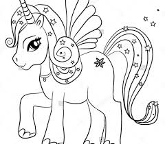Coloring Pages Unicorn Colouring Pages Cute Coloring For Adults