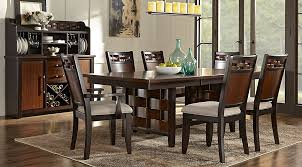 bedford heights cherry 5 pc dining room dining room sets dark wood