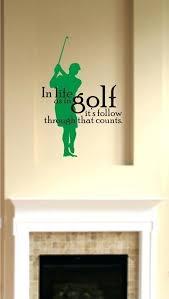 art wall golfer golf wall art art wall jr golfer art wall golfer