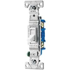 shop eaton 15 amp single pole white toggle indoor light switch at Cooper Emergency Lighting Wiring Diagram eaton 15 amp single pole white toggle indoor light switch