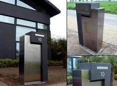 modern mailbox ideas. Modern Mailbox Design Ideas Stainless Steel Minimalist Designs A