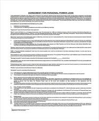 Loan Repayment Contract Free Template Cool Loan Agreement Form Template