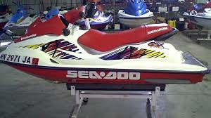 similiar 97 sea doo bombardier keywords lot 1300a 1997 sea doo gsx 800 jet ski w 111 5 hours