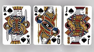 Face Card Design Playing Card Illustrations Spades Face Cards Playing