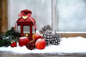 Das Fensterbrett Als Platz Für Die Weihnachtsdekoration