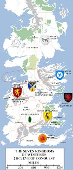 historical map  westeros before the conquest  atlas of ice and