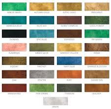 Concrete Stain Chart Concrete Color Dye Britecontent Co