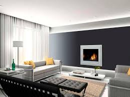Accent Wall In Living Room black accent wall with white curtain for amazing rectangular 5383 by xevi.us