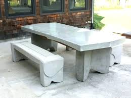 concrete patio tables outdoor dining table91