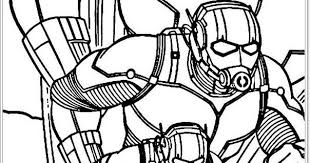 Small Picture Avengers Ant Man Coloring Pages Realistic Coloring Pages