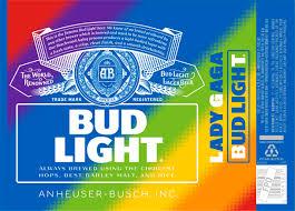 Bud Light Rainbow Cans Is Bud Light Calling On Lady Gaga Again Millercoors