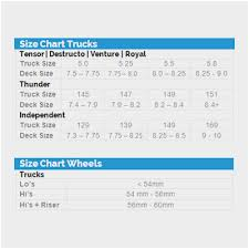 Ace Trucks Size Chart Independent Truck Sizes Ace Trucks Size Chart John Galliano