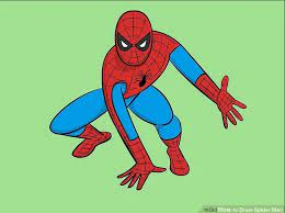 how to draw spiderman realistic or