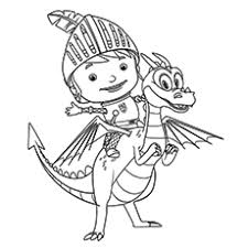 Small Picture Mike The Knight Coloring Pages FunyColoring
