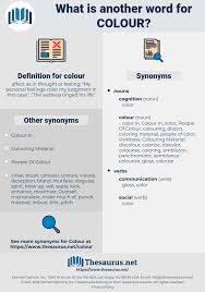 Paintcor Colour Chart Synonyms For Colour Thesaurus Net