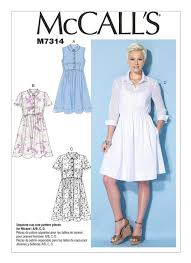 Mccall Patterns Stunning M48 Misses' Shirtdresses Sewing Pattern McCall's Patterns