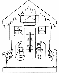 Small Picture Bluebonkers Winter Scene Coloring Pages