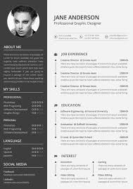 column resume layout Creative ...