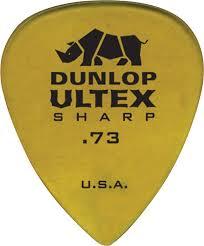 dunlop ultex sharp 73 mm guitar pick